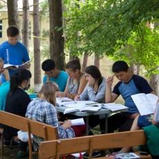 Tabăra de studiere intensivă a limbii engleze 2015